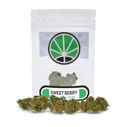 sweetberry cannabis cbd emballage