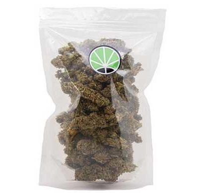 packaging de fleur de CBD cannabis White Widow
