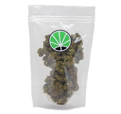packaging di fiori di marijuana light lemon cheese