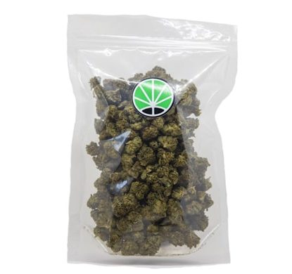 packaging de fleur de CBD cannabis Lemon Cheese