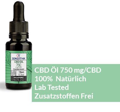 Beschreibung CBD Öl 15 ml 5% - Sensitiva