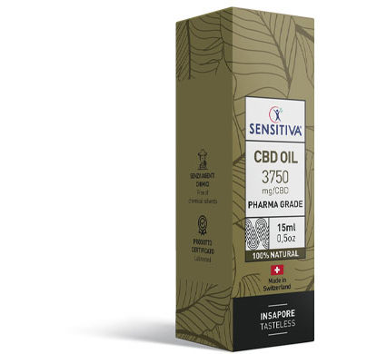 Confezione Olio di CBD da 15 ml al 25% - Sensitiva