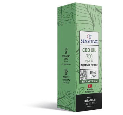 Paket CBD Öl 15 ml 5% - Sensitiva