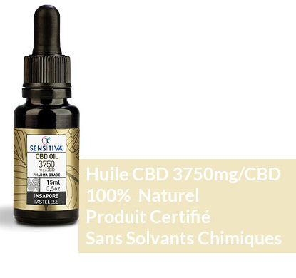 Sensitiva Huile de CBD 25 Description