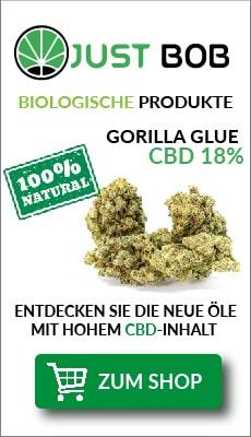 Fahne cbd gras gorilla glue