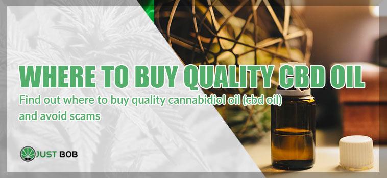 Where to buy quality CBD oil