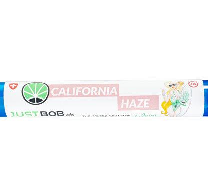 confezione di pre rolled di cannabis light california haze