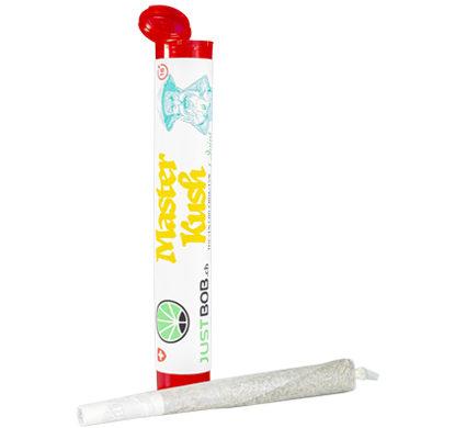 pre rollati con confezione di cannabis light Master kush