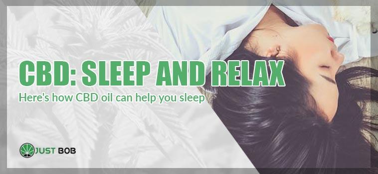 Here's how CBD oil can help you sleep