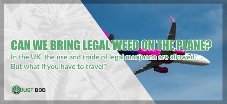 CBD Cannabis: can we bring legal marijuana on the plane?
