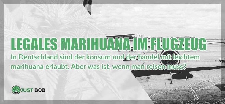 CBD Cannabis: legales marihuana im flugzeug