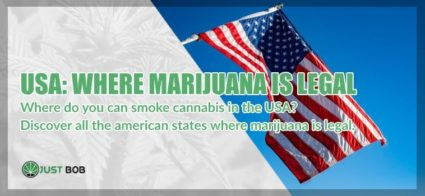 Where is legal to smoke cannabis in USA