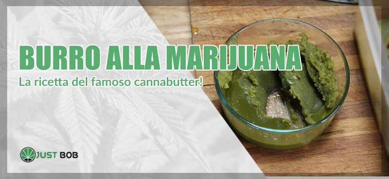 Marihuanabutter: burro alla marijuana CBD