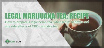 Marijuana CBD tea : the recipe