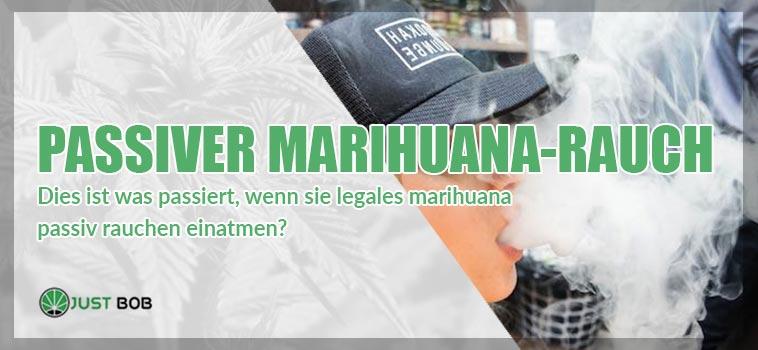 Passiver Marihuana Rauch