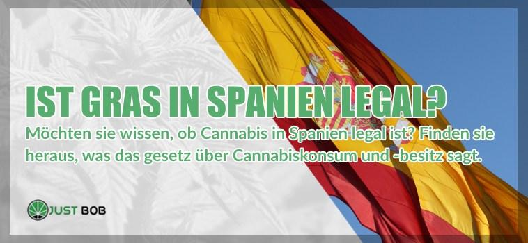 Ist Gras in Spanien legal?