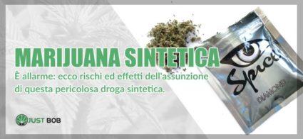 Allarme marijuana sintetica, una droga pericolosa