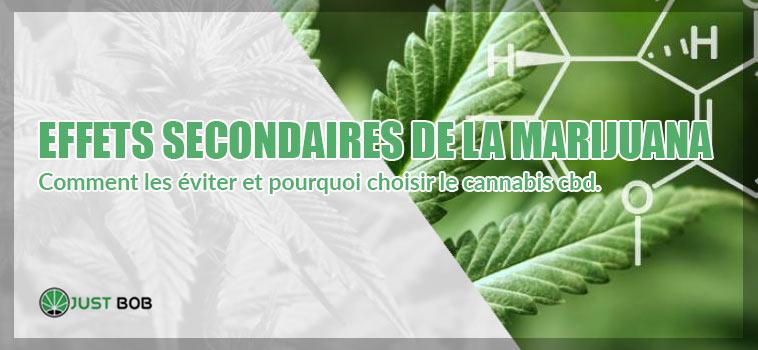 Effets secondaires de la marijuana.