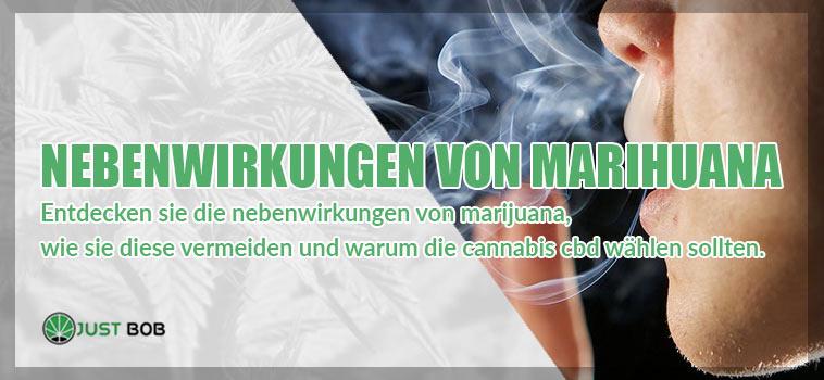 Nebenwirkungen von Marihuana