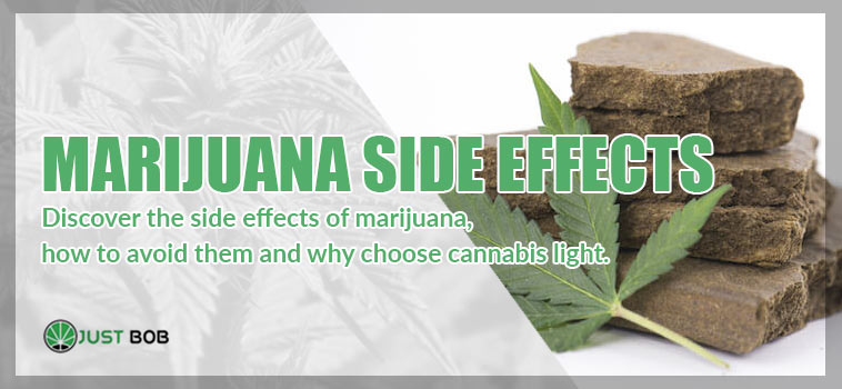 Discover the side effects of marijuana
