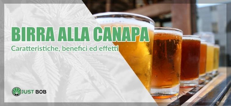 Birra alla canapa: di che si tratta?