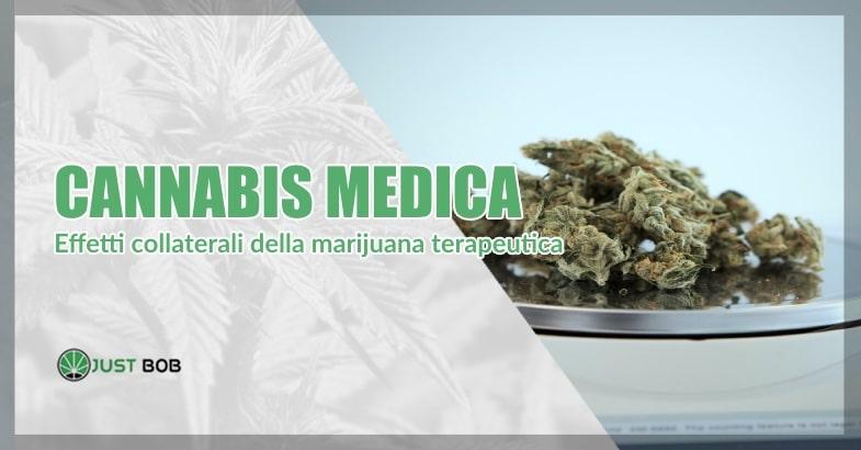 Gli effetti collaterali della cannabis terapeutica