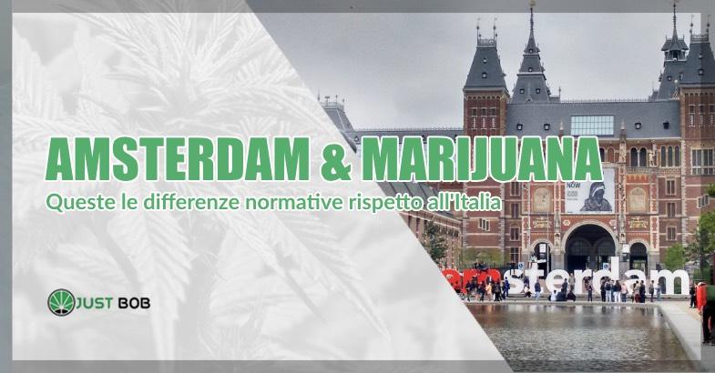 Su Justbob acquisti cannabis DAVVERO legale.